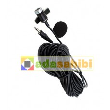 camera microphone yutuber lapel microphone wired 5mt photomachine eba school distance education